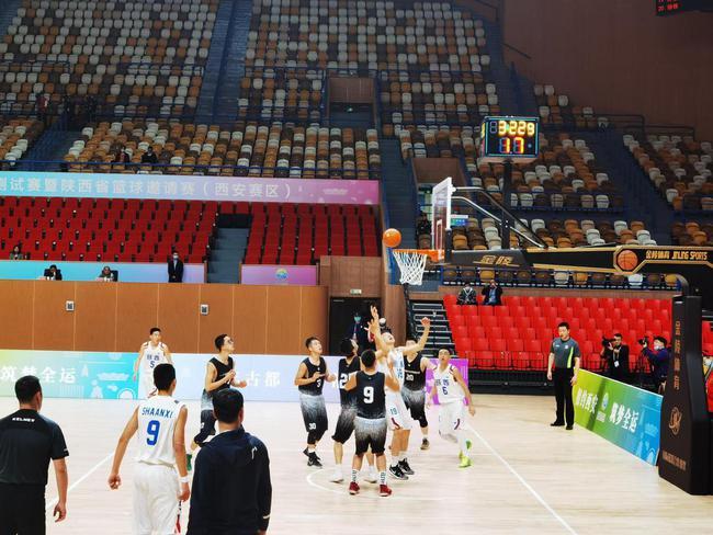 十四运会篮球测试赛首次引入5G智慧观赛新模式