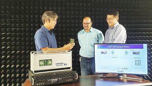 三星展示首个6G原型系统:速率是5G的50倍延迟仅为十分之一