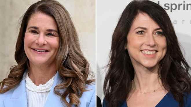 盖茨前妻与贝索斯前妻联手捐4800万美元促进性别平等