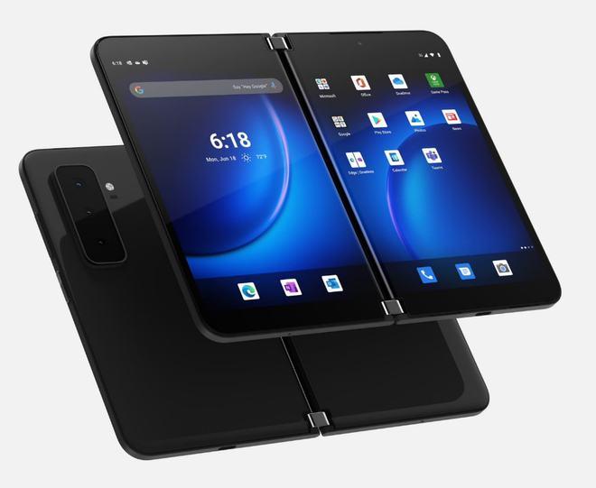 微软发布SurfaceDuo2安卓11双屏幕手机模拟器