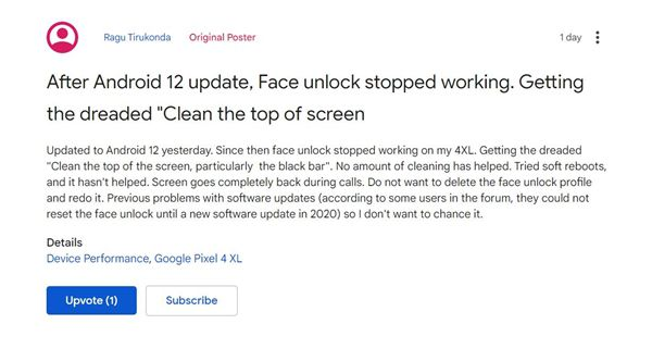 Android12翻车!用户更新后后悔了bug太多