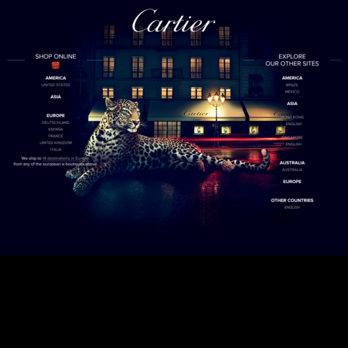 CARTIER - The renowned French jeweller and watchmaker