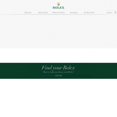 Official Rolex Website > Timeless Luxury Watches