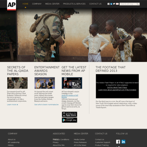 The Associated Press | The essential global news network