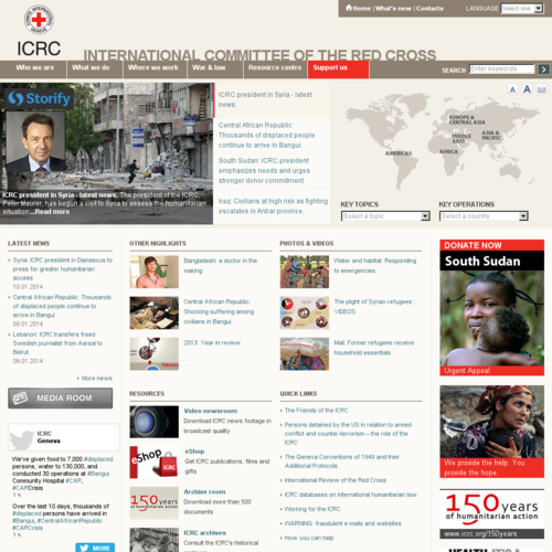 International Committee of the Red Cross (ICRC) - Home