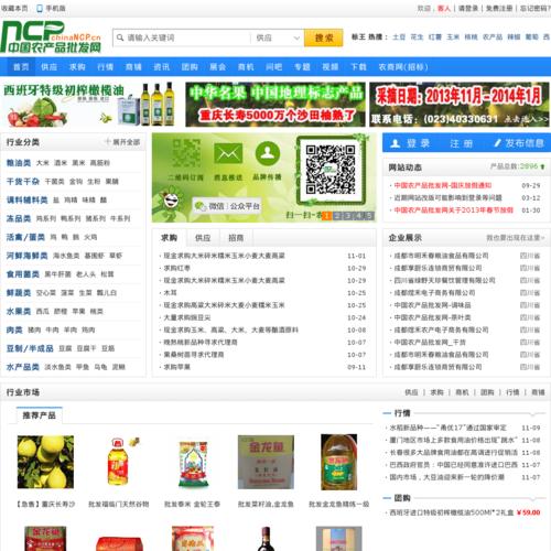 农产品价格质量安全批发交易分享网