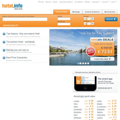 hotel.info德国好特酒店资讯