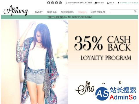 Alilang, Fashion Costume Jewelry & Accessories Store